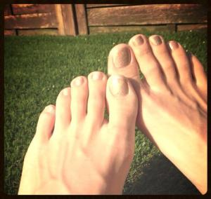 toe - 5 things I love about the summertime!