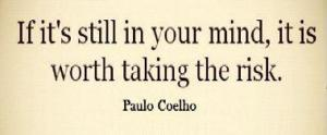 quote risk - If it's still in your mind...